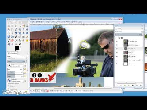 how to put a video in a collage with pictures
