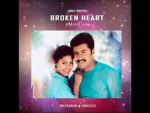 Unnai Ninaithu - Ennai Thalaatum | #Surya Whatsapp Status Video | Surya Love Failure  BGM