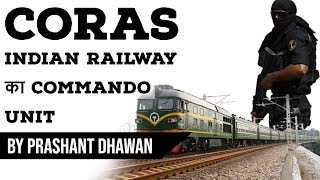 CORAS Indian Railway का Commando Unit - Current Affairs 2019 #UPSC #UPSC2020 #IAS