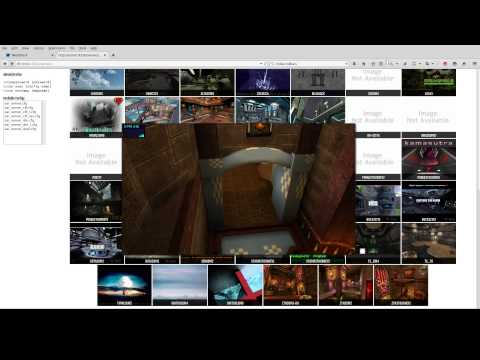 OpenArena Map Browser WebGL