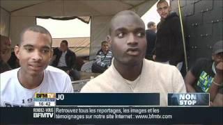 Unique en France: un camping citoyen en haut d'une tour dans un quartier à Melun