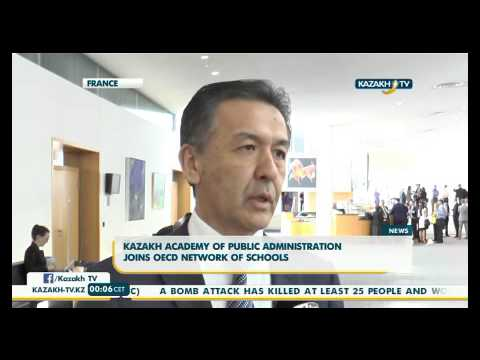 Kazakh academy of public administration joins OECD network of schools