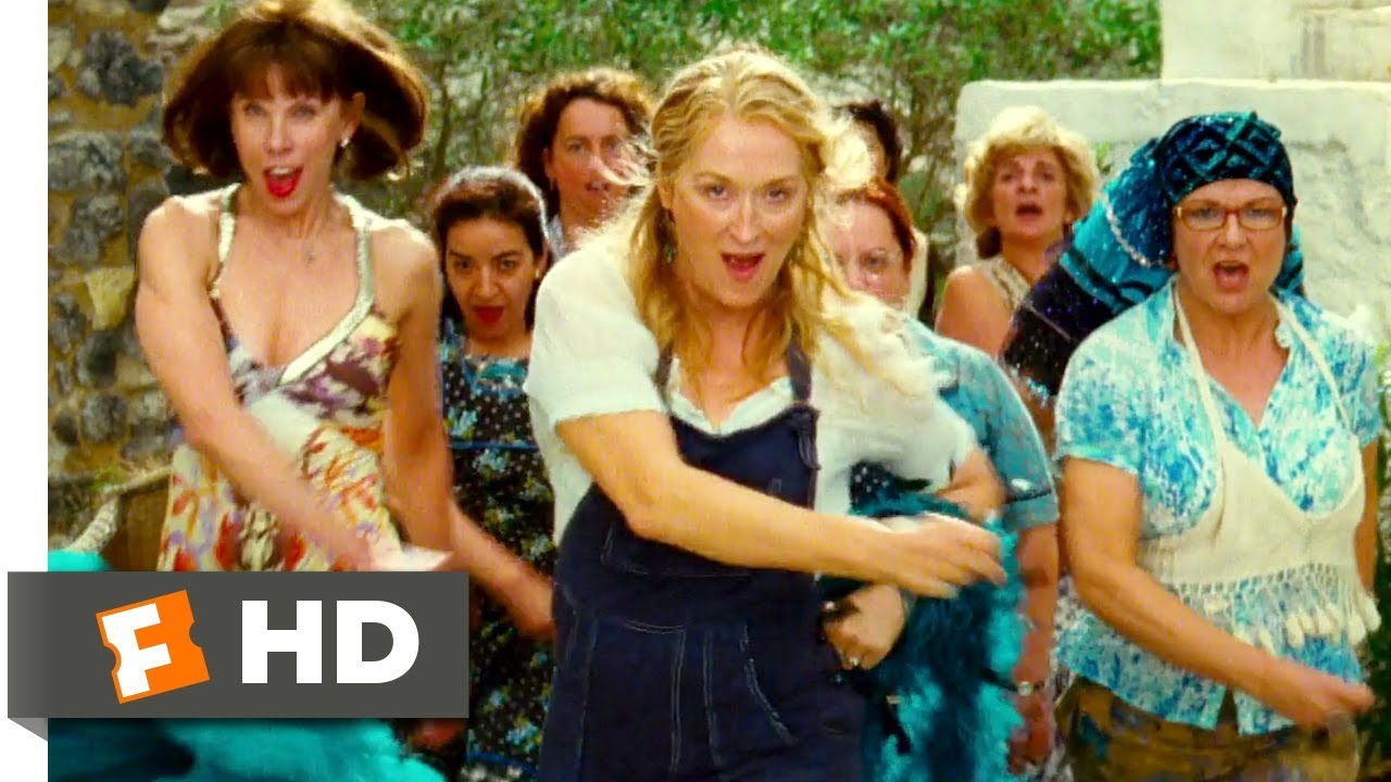 Mamma Mia 2008 Dancing Queen Scene 3 10 Movieclips Youtube