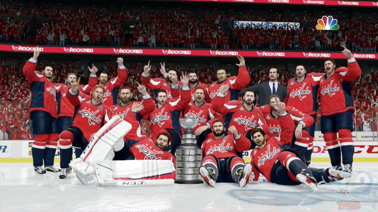 NHL 17 - Washington Capitals Stanley Cup Championship Celebration ... 65c9d5324