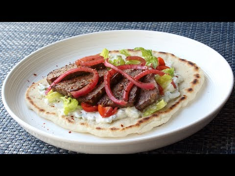"American Gyros – How to Make a Gyros Sandwich – Lamb & Beef ""Mystery Meat"" Demystified"