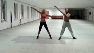 Эрик и Полина - урок дуэтного танца с поддержками.