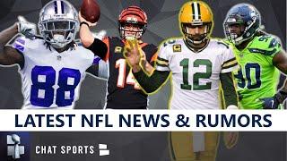 NFL News & Rumors: Aaron Rodgers Trade? Jadeveon Clowney, Andy Dalton, Corey Davis & CeeDee Lamb #88