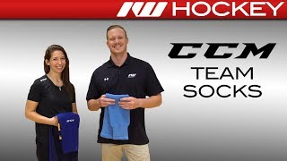 CCM S100P and SX6000 Hockey Skate Sock Insight