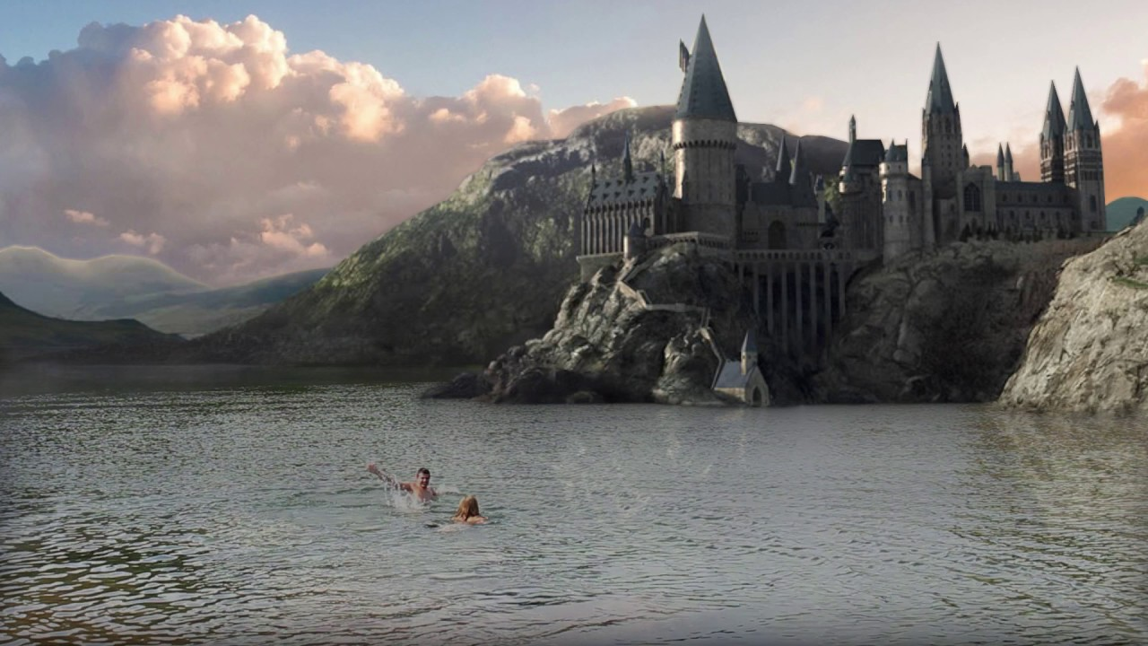 Swimming At Hogwarts Background Replacement Youtube