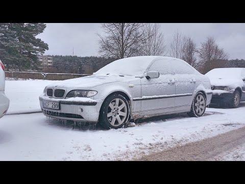 BMW 330D Cold Start -16,5