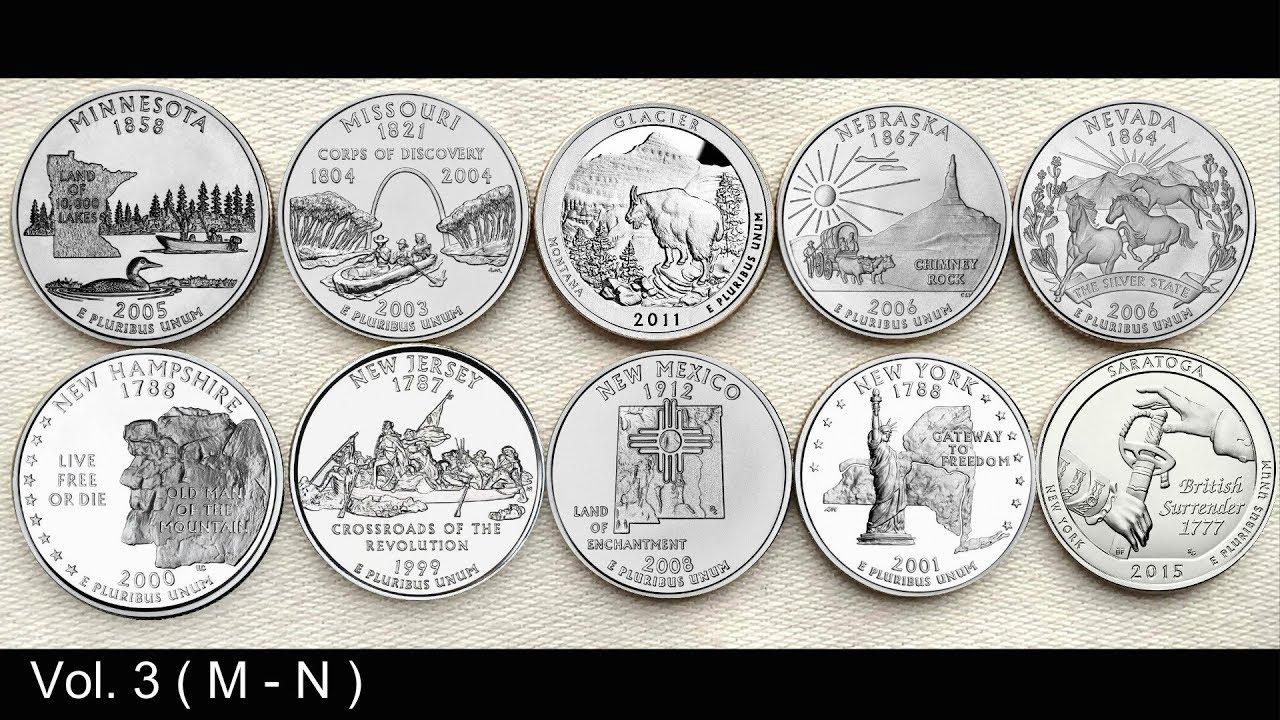 Philadelphia Mint 2010-2018 ATB NATIONAL PARK 43 COIN QUARTER SET