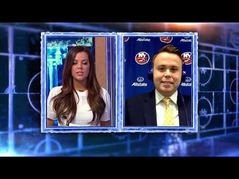 NHL Now:  Brendan Burke On Isles` Schedule, Trotz`s Influence  Oct 24,  2018