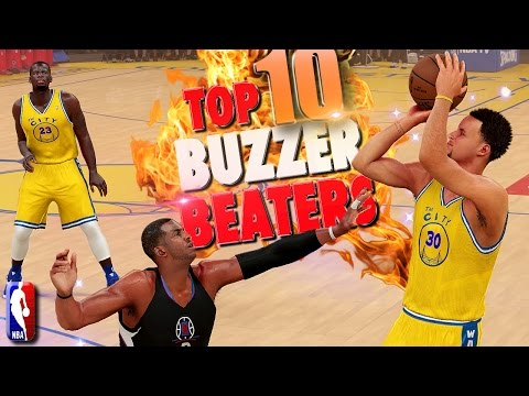 NBA 2K16 TOP 10 BUZZER BEATERS & Game Winning Shots #5
