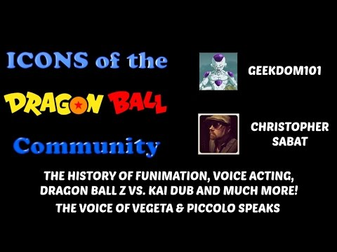 Icons: CHRIS SABAT INTERVIEW - Z vs. Kai Dub and the History of Funimation