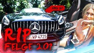 Felgenkratzgefahr durch Bella | AMG GTC Cabrio | inscopelifestyle