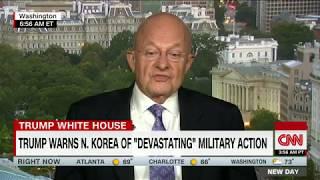 Clapper on North Korea: I would cool it if I were Trump