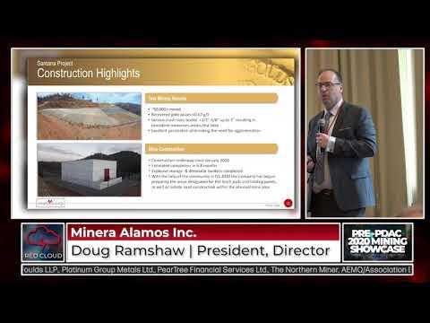 Minera Alamos Inc. Presentation | Red Cloud Pre-PDAC Mining Showcase | February 28, 2020
