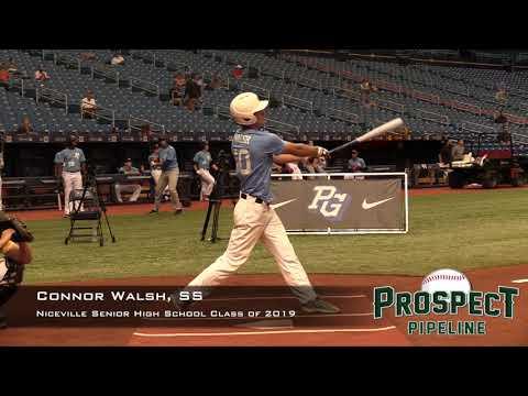 Connor Walsh Prospect Video, SS, Niceville Senior High School Class of 2019