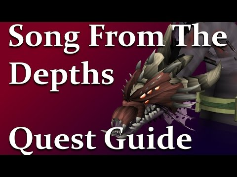 RSQuest: Song From The Depths Quest Guide [Runescape|RS3|NXT] Full Walkthrough