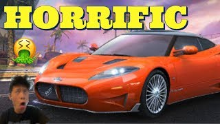 ASPHALT 8 MULTIPLAYER WITH THE USELESS AND UGLY SPYKER C8 PRELIATOR