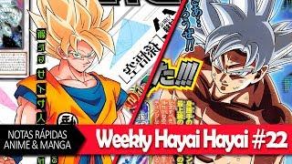 Gokú de la Nueva Película, Smash Manga, Mob Psycho 100 Tempo 2 ¡Y MÁS! | WEEKLY HAYAI HAYAI #22