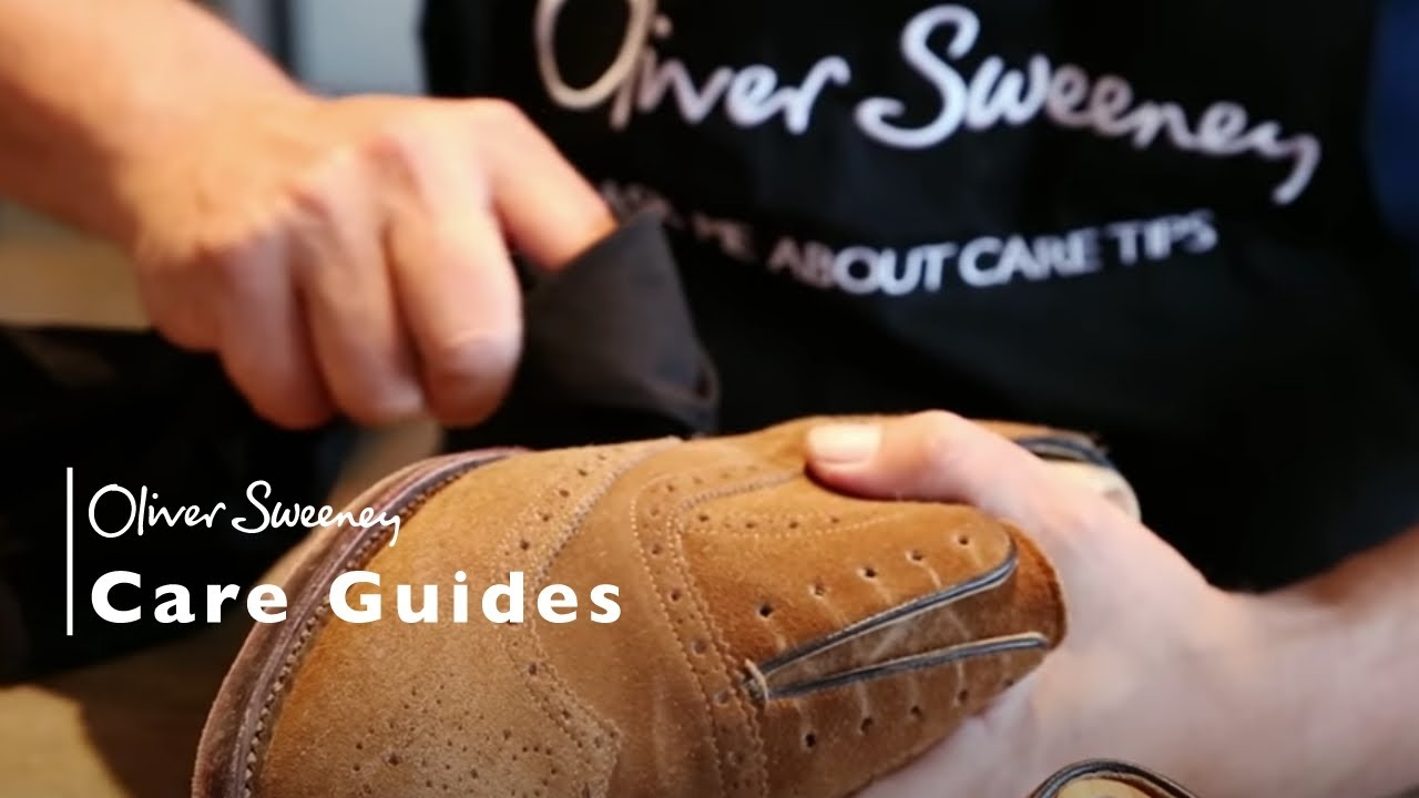 Oliver Sweeney Video - Suede Shoe Care Tips