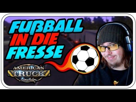 DEN BALL IN DIE FRESSE - AMERICAN TRUCK SIMULATOR #006 - Let's Play ATS - Dhalucard