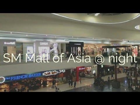 SM Mall of Asia tour @ night 2017