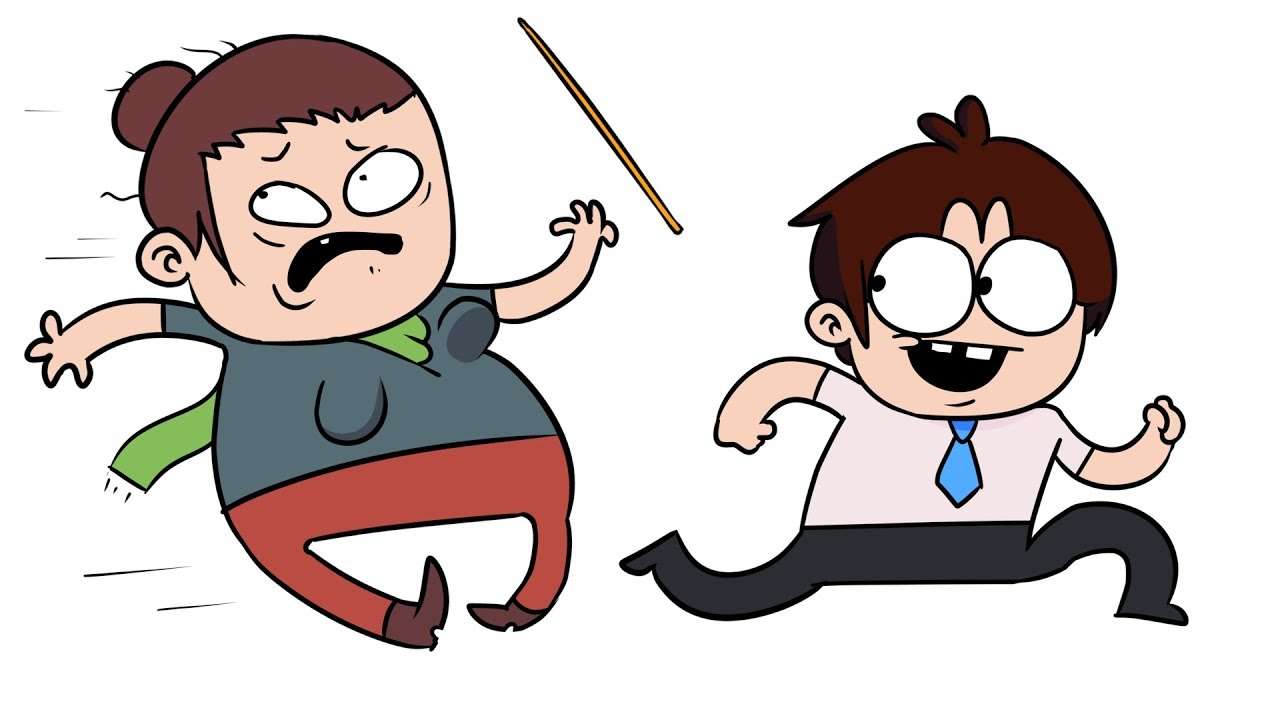 Приколы Над Учителями (анимация)