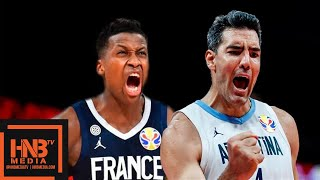 France vs Argentina - Full Game Highlights | FIBA World Cup 2019