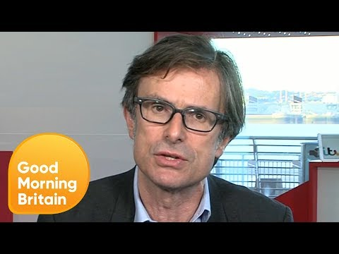 Robert Peston on Experiencing 'Predatory' Stalking Since His Wife's Death | Good Morning Britain