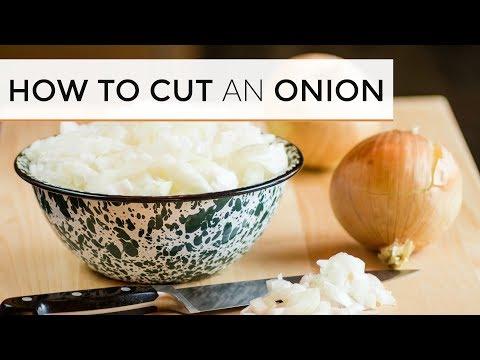 How To Cut an Onion Like A Pro | 4 Easy Ways