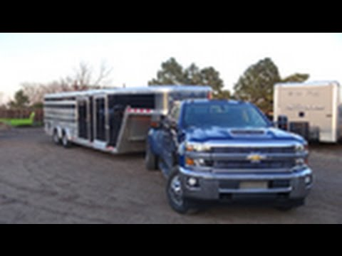 2017 Chevy 3500 Dually Review With New Duramax In The Rockies