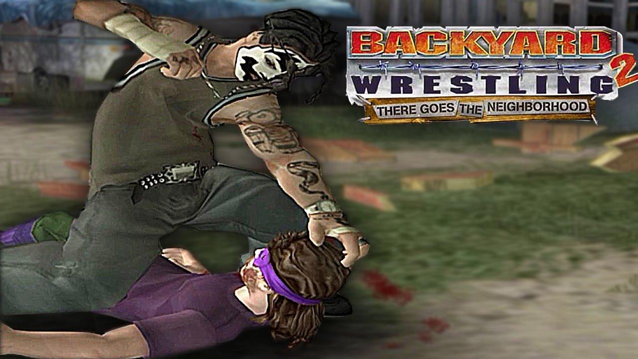 BACKYARD WRESTLING 2 - O JOGO MAIS HARDCORE DO PS2! - YouTube