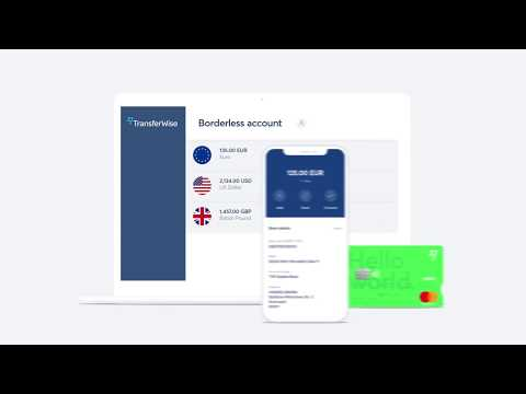The TransferWise borderless account