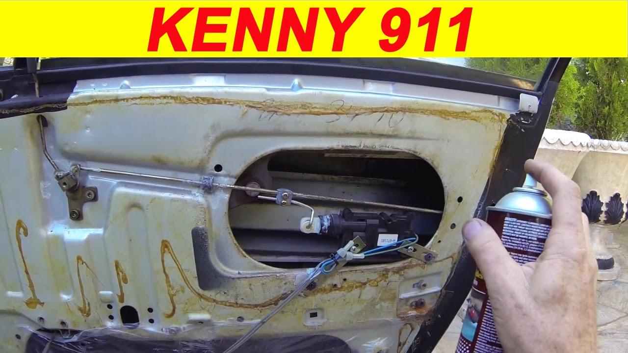 Porsche 911 sc door panel repair-DIY