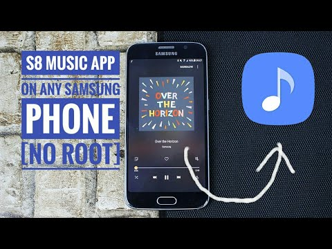 How to install s8 music player on any samsung phone [no root]