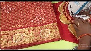 Wedding blouse for silk saree