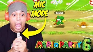 LOSING MY VOICE SCREAMING INTO THIS MICROPHONE! [MARIO PARTY 6]