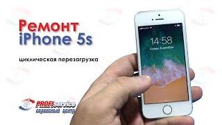 ремонт iPhone 5s (циклическая перезагрузка)