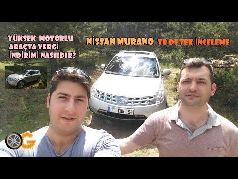 Nissan MURANO TR de İlk İnceleme