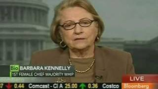 barbara kennelly discusses social security on bloomberg tv