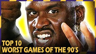 THE 10 WORST GAMES OF THE 90'S | #ZOOMINGAMES