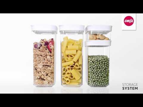 Контейнер для хранения сыпучих продуктов EMSA OPTIMA