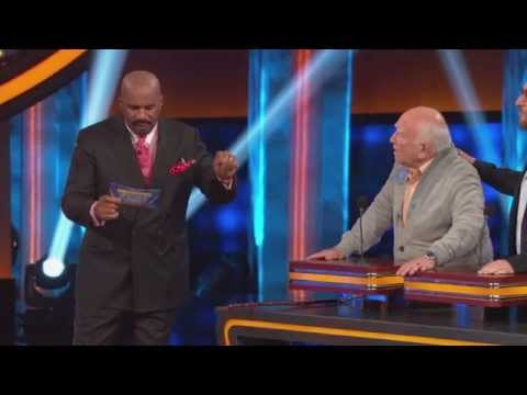 Celebrity Family Feud  Ed Asner's Shocking Answer