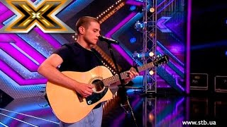 Young boy impressed the judges Bob Dylan' song «Make you feel my love». The X Factor - TOP 100