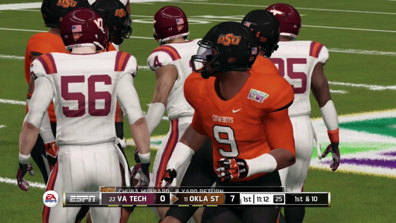 NCAA Football 14 Bowl Game Series 2017 2018 Virginia Tech ...