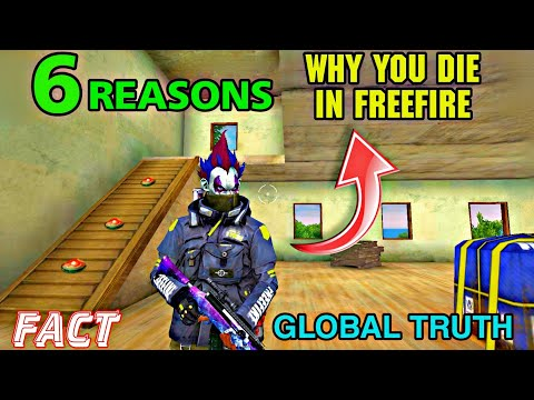 6 Reason Why You Die In Freefire || NOOB VS PRO || #Tipsandtricks