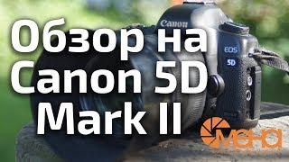 Обзор на Canon 5D Mark II (снимаю на него 9 лет)