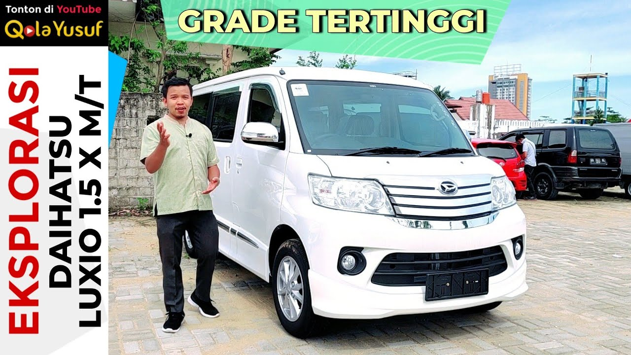 Eksplorasi Daihatsu Grandmax Mini Bus 1 3 Manual Ac D Ff Mini Bus Terjangkau Yang Lega Youtube